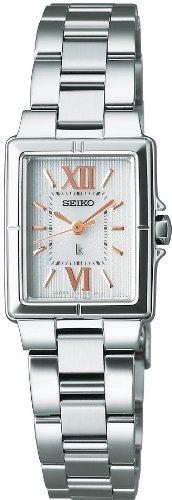 SEIKO (セイコー) 腕時計 LUKIA ルキア 秒針つき エコテックソーラー SSVR017 レディース