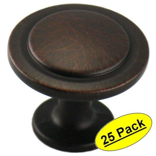 cosmasr-5560orb-oil-rubbed-bronze-cabinet-hardware-round-knob-1-1-4-diameter-25-pack