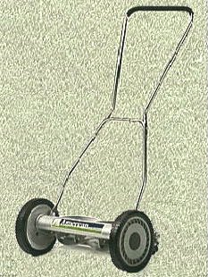 American Lawnmower Company Deluxe Full Feature 18 Inch Cutting Width Reel Mower
