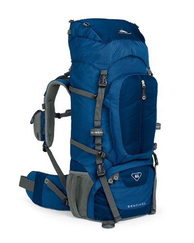 High Sierra Classic Series 59401 Sentinel 65 Internal Frame Pack Pacific 32X14.25X8.75 Inches 3970 Cubic Inches 65 Liters front-524684