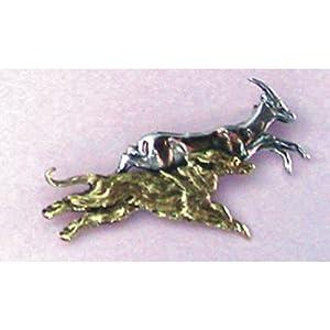 Afghan Hound Breed Origin Pin