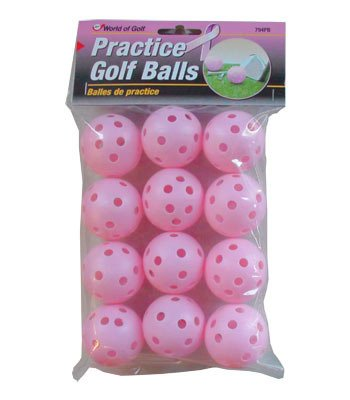 Jef World of Golf Gifts and Gallery, Inc. Practice Balls (Pink)