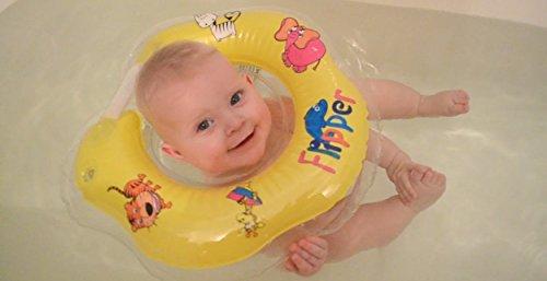 Schwimmring Flipper Schwimmreifen für den Hals Schwimmhilfe von Roxy Kids