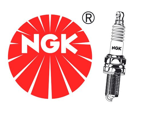NGK Z&#252;ndkerze B8ES f&#252;r SUZUKI GS 450 E/ES (GS450) 450 ccm