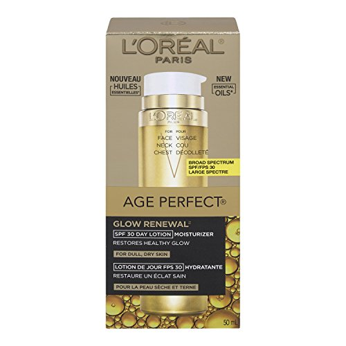 L'Oreal Paris Age Perfect Glow Renewal SPF 30 Lotion, 1.7 Fluid Ounce