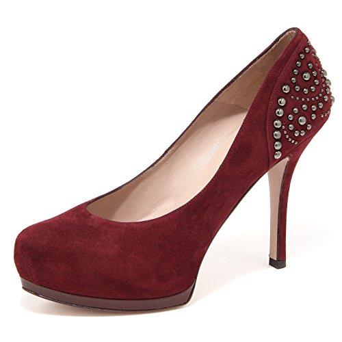 61868 decollete PURA LOPEZ BORCHIE scarpa donna shoes women [36.5]