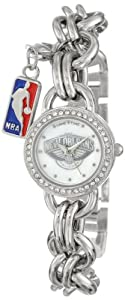 Game Time Ladies NBA-CHM-NO Charm NBA Series New Orleans Hornets 3-Hand Analog Watch by Game Time
