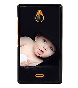 printtech Cute Baby Back Case Cover for Nokia XL