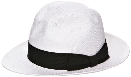 Helene Berman Paper Trilby with Bow Women's Hat