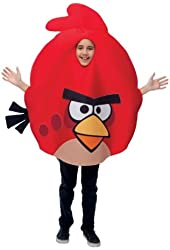 PMG Angry Birds Costume, Red, Childrens One Size Fits Most