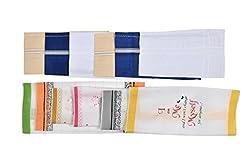 Riqueza Unisex Handkerchief (Pack Of 12) (RMFC 005_Multi_Free Size)