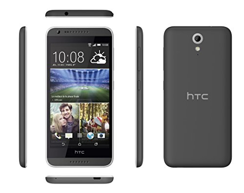HTC-Desire-620-Smartphone-dbloqu-4G-Ecran-5-pouces-8-Go-Simple-SIM-Android-44-KitKat-Gris