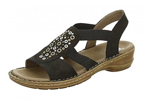 signore ara sandalo 12-37246-01 nero, Damen Größen:38;Farben:schwarz