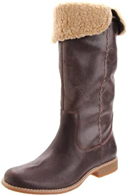 Timberland Women's 25670 Shoreham Knee-High Boot,Dark Brown Suede,6.5 M US