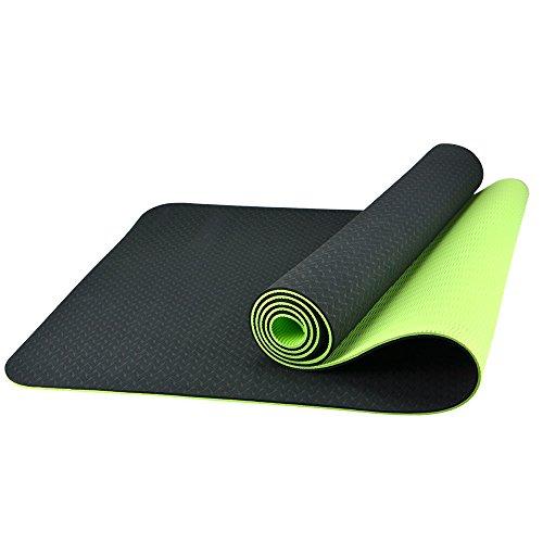 bestek-tapis-de-sol-camping-antiderapant-yoga-mat-non-toxique-6-mm-depaisseur-vert-noir