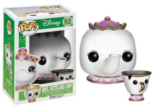 Funko-POP-Disney-Mrs-Potts-and-Chip-Action-Figure
