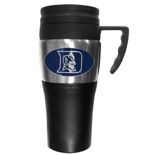 NCAA Duke Blue Devils 2 Toned Travel Mug at Amazon.com