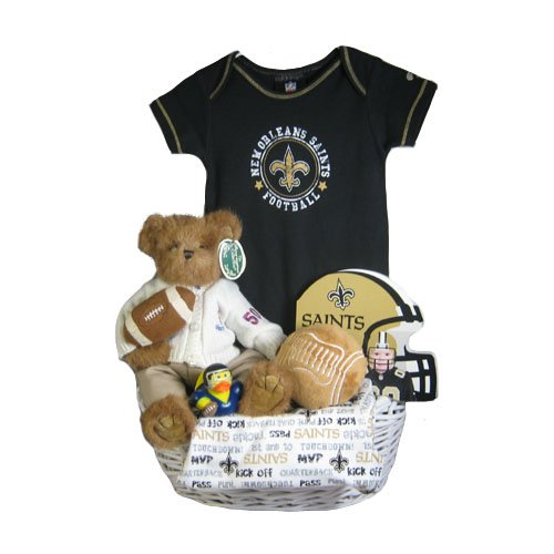 New Orleans Saints Baby Gift Basket Touchdown Atso Halvarias