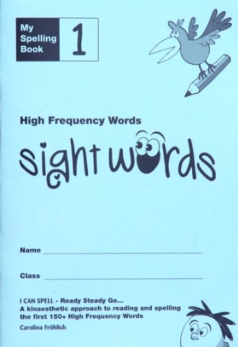 My Spelling Book 1: High Frequency Words (sight words)