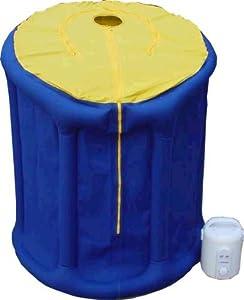 sauna portable amincissant et relaxant portatif avec pompe high tech. Black Bedroom Furniture Sets. Home Design Ideas