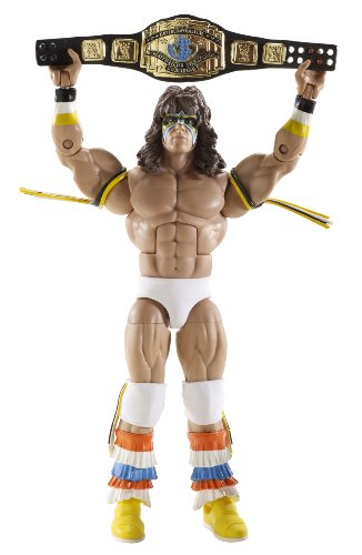 WWE MATTEL LEGENDS 4 ULTIMATE WARRIOR FIGURE