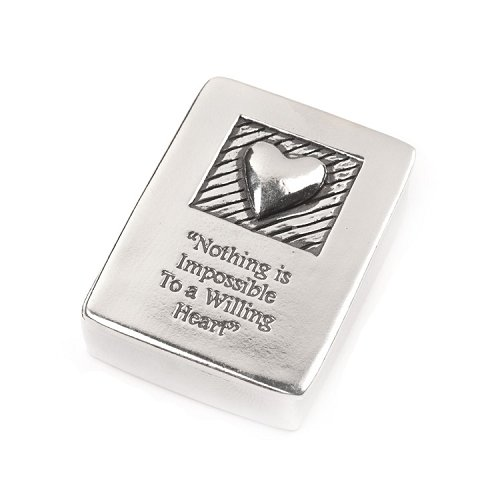 Willing Heart Treasure Box and Heart Necklace Set