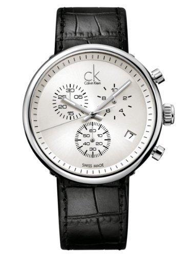 Calvin Klein Herren Substantial Gent Silver Dial Men's Watch - K2N271C6
