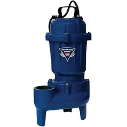 PHCC E7055-NS 1/2 HP Cast Iron Sewage Pump, Non-Switched