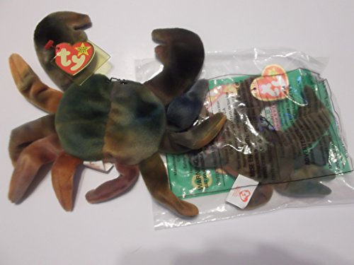 Claude the Crab Beanie Baby and Teenie Beanie Set - 1