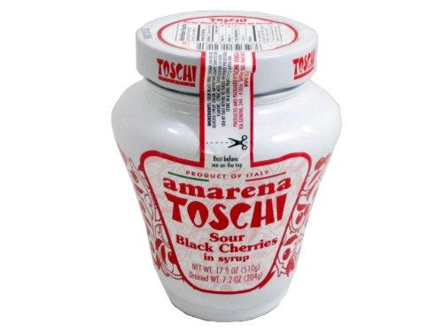 Amarena Toschi Italian Cherries in Syrup 18 Oz.