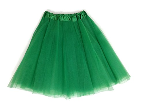 Rush Dance Adult Costume Ballet Warrior Kelly Green St Patrick's Day Parade Tutu