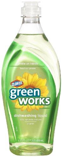Greenworks Natural Dishwashing Liquid Original, 22-Fluid Ounce Bottles (Pack Of 12)