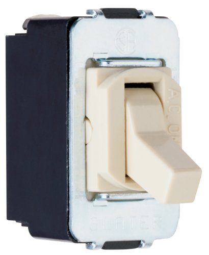 Pass & Seymour Acd3Icc8 Despard Three-Way Toggle Switch, 15-Amp 120-Volt/277-Volt, Ivory