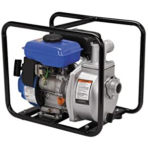 "Central Machinery 1-1/2"" Clear Water Pump with 2.5 HP Gas Engine"