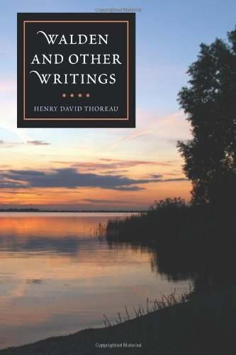 """walden and other writings Buy a cheap copy of walden and other writings book by henry david thoreau with their call for simplicity, simplicity, simplicity"""", for self-honesty, and for."""