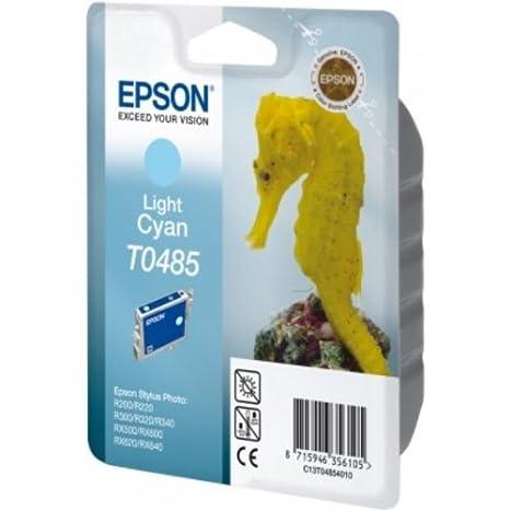 Epson C13T04854010 Cartouche d'encre cyan lumière pour Epson Stylus Photo R 300