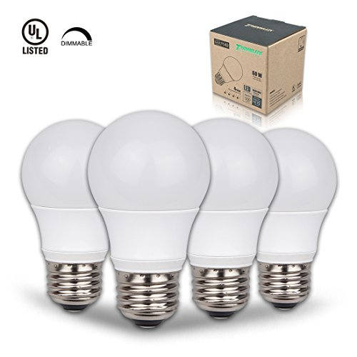 Thinklux LED A15 Appliance & Ceiling Fan Light Bulb, 6W (60W Equal), 3000K (Warm White), Dimmable (Pack of 4) for Ceiling Fans and Appliances (60w Appliance compare prices)