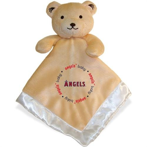 Baby Fanatic Security Bear Blanket, Los Angeles Angels front-1007053