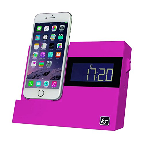 KitSound-XDOCK3-Radio-Uhr-Dockingstation-Ladegert-mit-Lightning-Anschluss-fr-iPhone-5-5S-5C-SE-6-6-Plus-6S-6S-Plus-iPod-Nano-7-Generation-iPod-Touch-5-Generation-mit-EU-Netzstecker