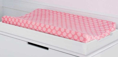 Kids Line Dena Happi Tree Velour Changing Pad Cover, Pink back-991938