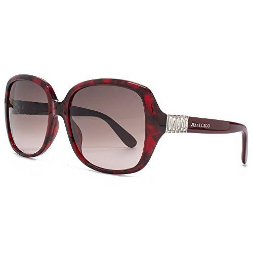 jimmy-choo-sonnenbrillen-fur-frau-lia-ebk-k8-bordeaux-red-tortoise-brown-gradient-kunststoffgestell