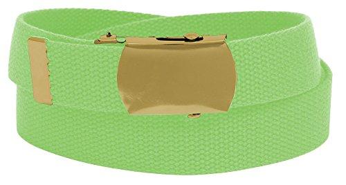 Sunrise Outlet - Fibbia cintura -  Vestito modellante  - Bambini e ragazzi Verde Flash Green