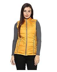 Yepme Women's Yellow Polyester Jackets - YPMJACKT5188_XS