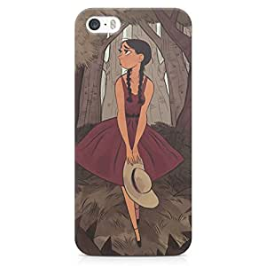 Printkaro Designer Art 3D printed Back Cover for Apple iPhone 5 / 5S