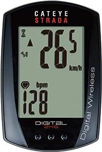 CatEye Strada Digital Wireless Bicycle Computer w Speed Heart Rate - CC-RD420DW by CATEYE