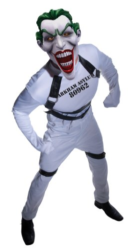 Batman Arkham City Joker's Straightjacket Jumpsuit