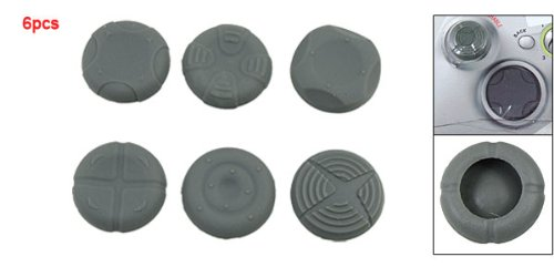 6PCS Gray Silicone Grip Case for XBOX 360 Controller цена