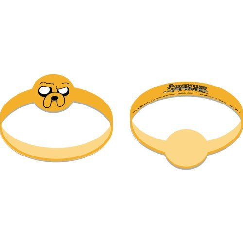 Adventure Time Rubber Wristband Party Favors (4 ct) - 1