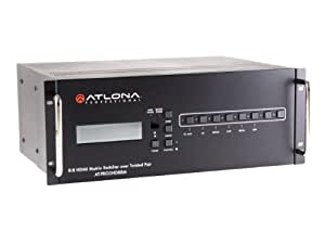 Atlona Technologies HDBaseT 8 by 8 HDMI Matrix Switcher over CAT5e/6/7 AT-PRO2HD88M