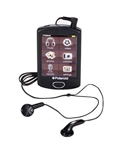 Polaroid PMP283C-4 4GB Music & Video Player with built-in Camera
